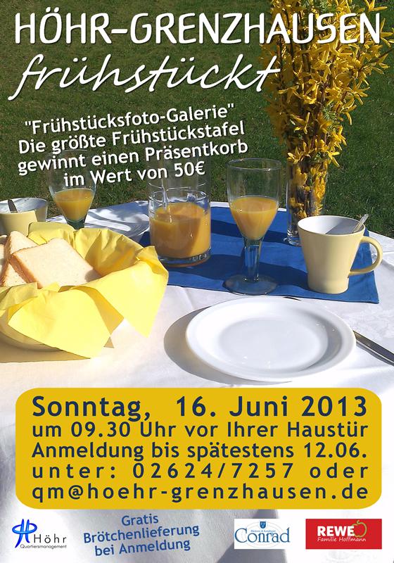 Höhr-Grenzhausen frühstückt