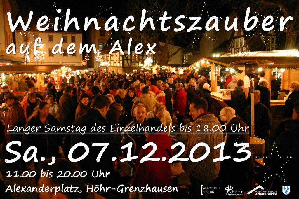plakat weihnachtszauber 2013 neu