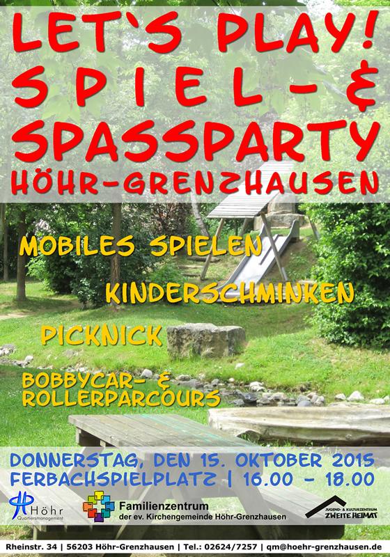 Plakat Lets play Ferbach 2015 Herbst web